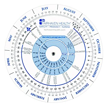 Amazon com pregnancy wheel and ovulation calendar beauty