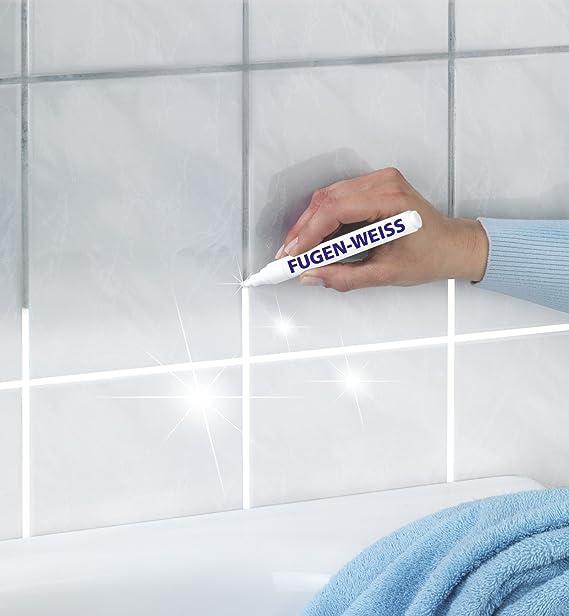 Wenko 5665020500 Fugenreiniger-Stift - für stark verschmutzte Fugen ...