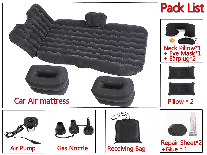 Amazon.com: Onirii - Colchón hinchable para coche, bomba de ...