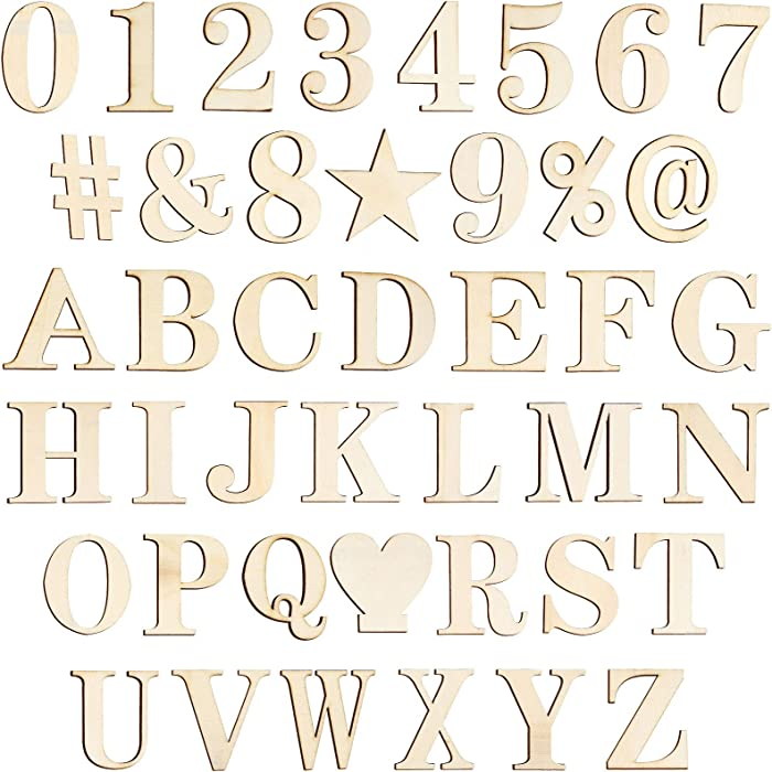 Top 10 Wooden Numbers For Decor