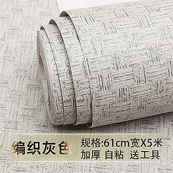 GOUZI Farbe Tapete Selbstklebende Tapete 61 cm*5 m ...