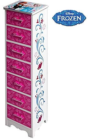 Amazon.es: Frozen - Mueble cajonera de madera 22, 8 x 19 x ...