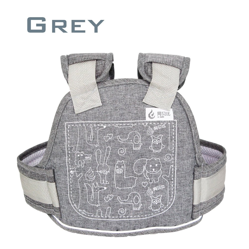 Children Motorcycle Seat Belts Kids Electric Vehicle Safety Travel Belt with Expandable Baby Safety Harness Strap for Motorbike Bike Snowmobile Electric Scooter Horseback Riding (Grey)