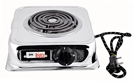 B.N.Brights 2000-Watt with Wire G Coil Hot Plate Induction Cooktop/Induction Cookers/Handy G Coil Cooktop,Multi Colour