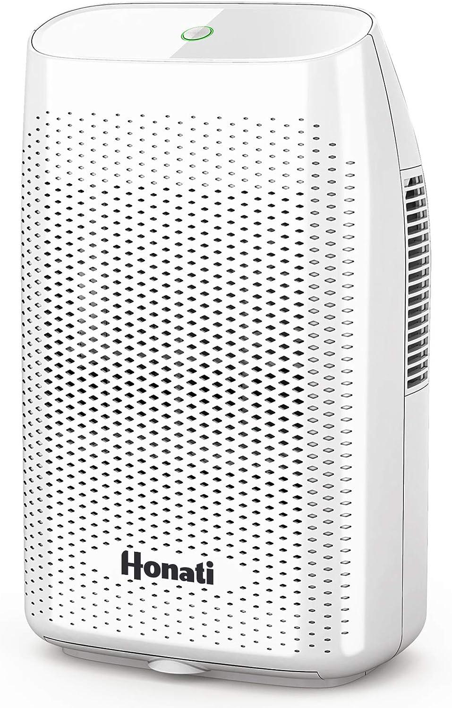 Home Dehumidifier, 2500 Cubic Feet (269 sq ft) 2000ml Ultra Quiet Small Portable