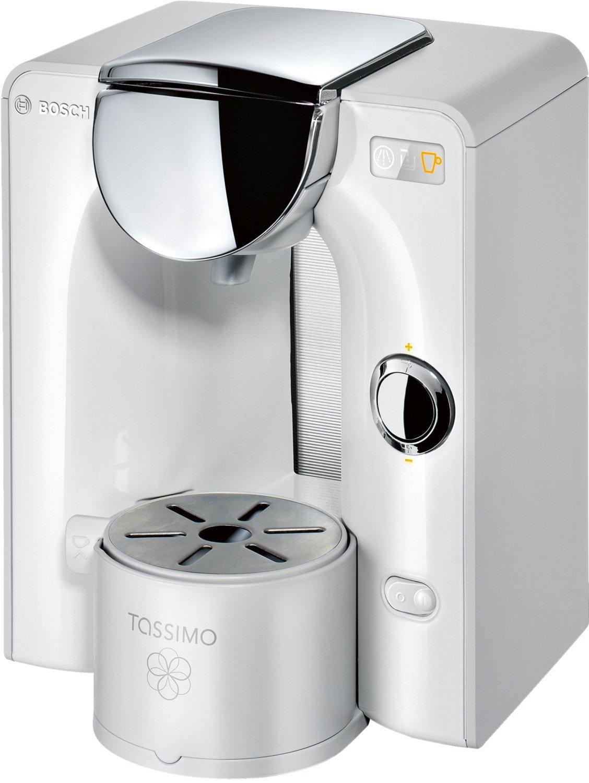 Bosch TAS5544 Tassimo - Máquina automática de monodosis para preparar diferentes bebidas, color blanco
