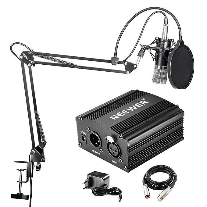 60 opinioni per Neewer NW-700- Microfono Professionale a condensatore kit + 48 V alimentazione