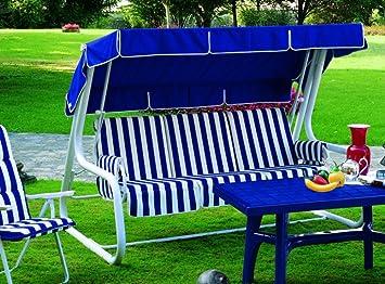 Balancín de jardín Convertible en cama, balancín de jardín 4 plazas, balancín Master Scab, cama Balancín: Amazon.es: Hogar