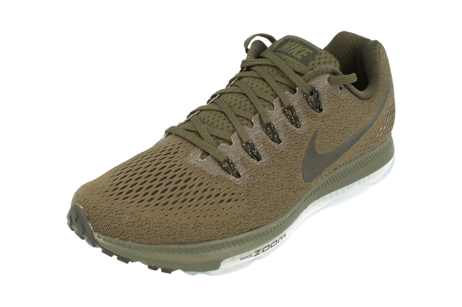 NIKE Zoom All Out Low Men's Running Sneaker B00PMPNKT6 8.5 D(M) US|Sequoia Black Palm Green 301