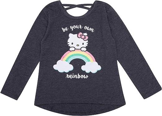 HELLO KITTY Toddler Girls 2 3 4 5 2T 3T 4T 5T Short Sleeve Tee Shirt Top Cat