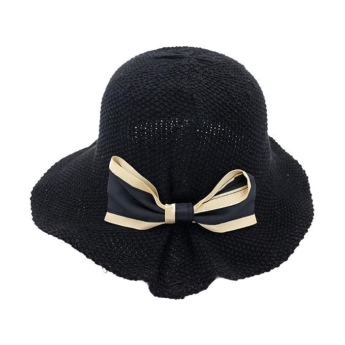 La Signora Arco Cappello da Sole Cappello Pescatore Cappello del Knit Loto  Cappello Pentole Foglia Tappi 1a5c0138ca18