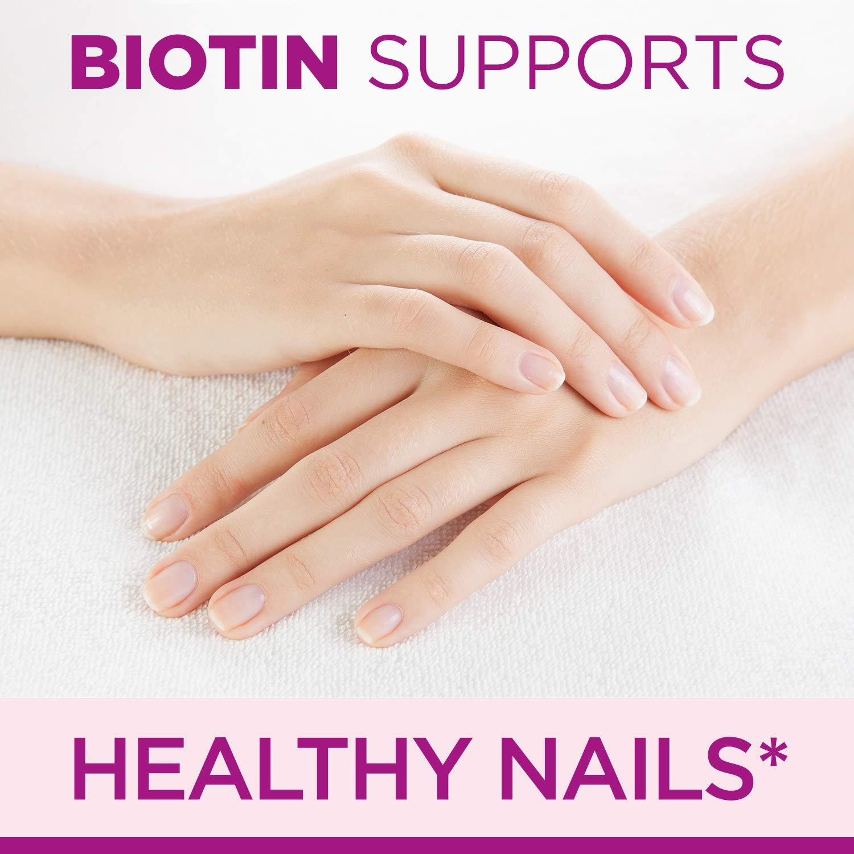 Nature S Bounty Vitamin Biotin Optimal Solutions Hair Skin