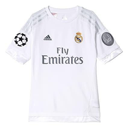 65ce8cefcbc43 adidas Real H JSY Y UC Real Madrid Second Replica 2015-2016 Maglia da  Bambino