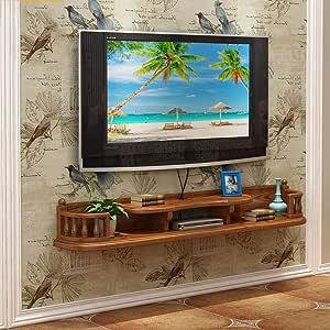 MKJYDM Estantería de pared Mueble de TV Estante for TV Estante for televisor Estante for televisor Unidad de almacenamiento flotante Estante for estante Estante for DVD DVD Estante de montaje en pared: