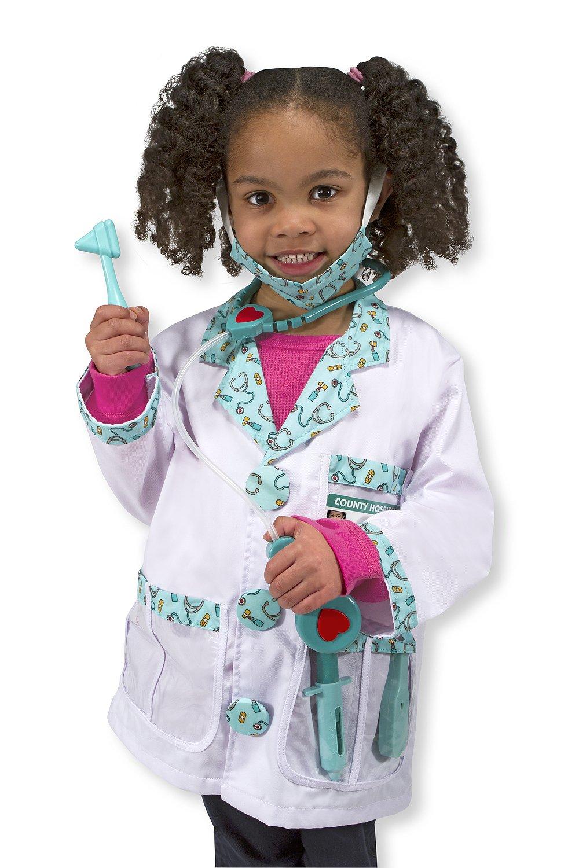 Melissa & Doug Doctor Role Play Costume Dress-Up Set (7 pcs) 4839
