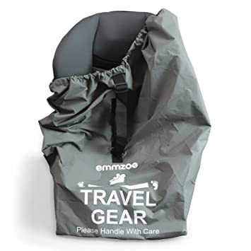 Amazon.com: Emmzoe Premium Car Seat Airport Gate Check Travel ...
