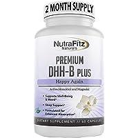 DHH-B Supplement - Bioactive Honokiol Magnolia bark Extract   for Stress, Anxiety, Depression Relief, Sleep Aid…