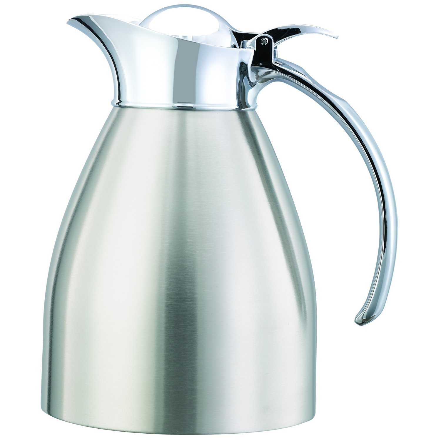 Service Ideas 982C06BS Carafe, Stainless Lined, Brushed, 0.6L