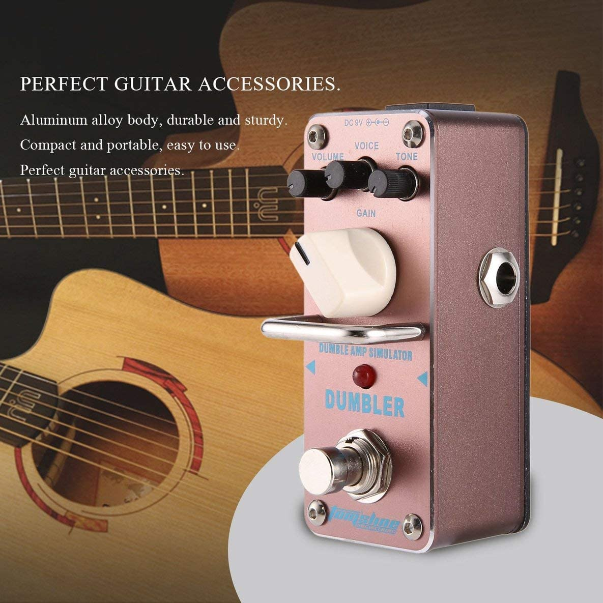 Noradtjcca Aroma ADR-3 - Simulador de Amplificador para Guitarra ...