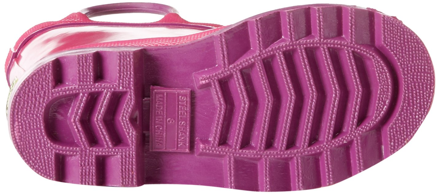 Western Chief Kids Waterproof Rubber Classic Rain Boot with Pull Handles, Pink, 7 M US Toddler by Western Chief (Image #3)