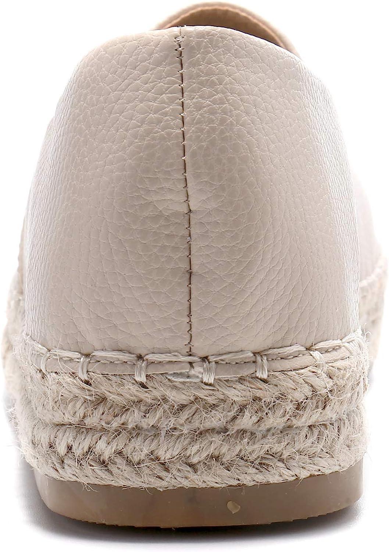 Alexis Leroy Espadrille Femmes Plat Loafers Chaussures Confort Espadrilles
