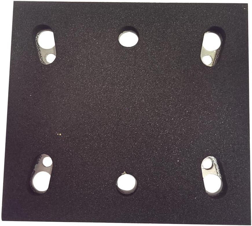 Superior Electric SPD17 Replacement (2 Pack) Sanding Pad -1/4 Sheet PSA 6 Holes # 158324-9 # SPD17-2pk