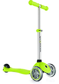 Amazon.com : Globber 3 Wheel Adjustable Height Scooter (Red ...