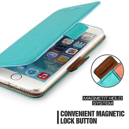 377 opinioni per Custodia iPhone 6s- Cover iPhone 6s- Mulbess Custodia In Pelle Con Supporto di