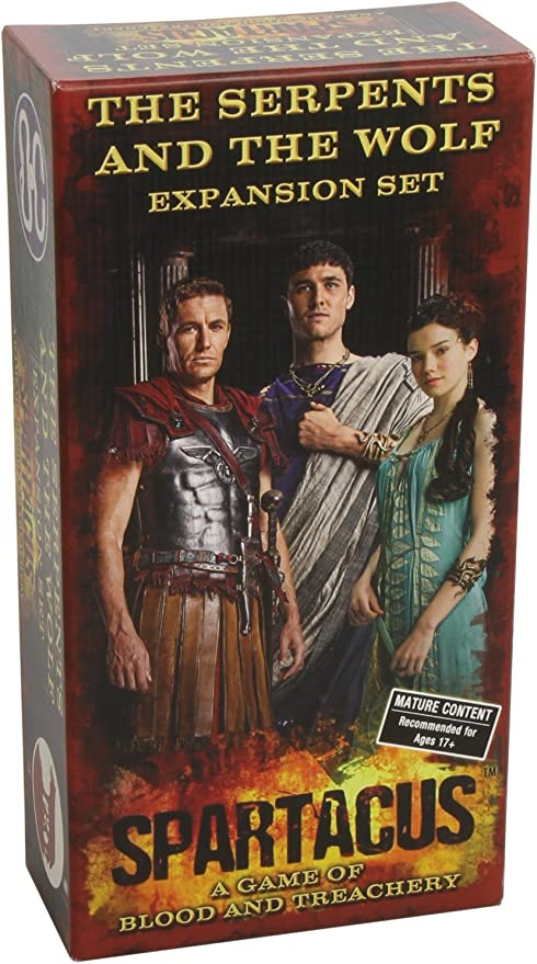 Spartacus the Serpents and the Wolf: Expansion Set: Not Available ...
