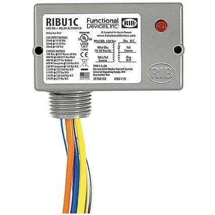 enclosed pilot relay, 10-30 vac/dc/120 vac coil, 10 amp spdt: amazon.com:  industrial & scientific  amazon.com