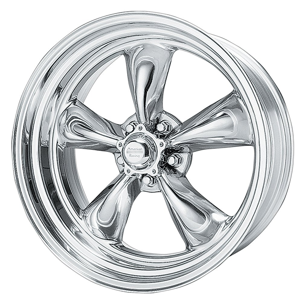 American Racing Custom Wheels VN515 Torq Thrust II 1 Pc Polished Wheel (18x8''/5x120.7mm, 0mm offset)