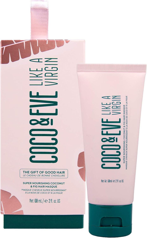 Coco & Eve The Gift of Good Hair. Mascarilla Para el Pelo - Tratamiento Acondicionador Superhidratante con Coco e Higos