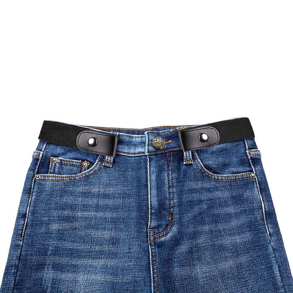 Ruimin 1PC Buckle-Free Elastic Invisible Belt Invisible Belts for Jeans for Mens Women by Ruimin (Image #7)