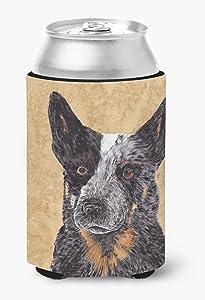 Caroline's Treasures SC9141CC Australian Cattle Dog Can or Bottle Beverage Insulator Hugger, Can Hugger, multicolor