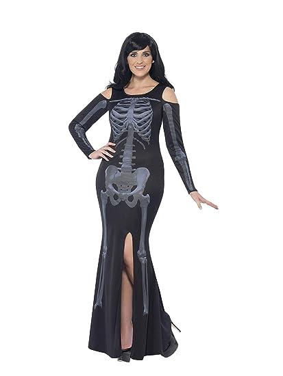 Smiffys - Traje Esqueleto Curvas, Color Negro (44336L ...