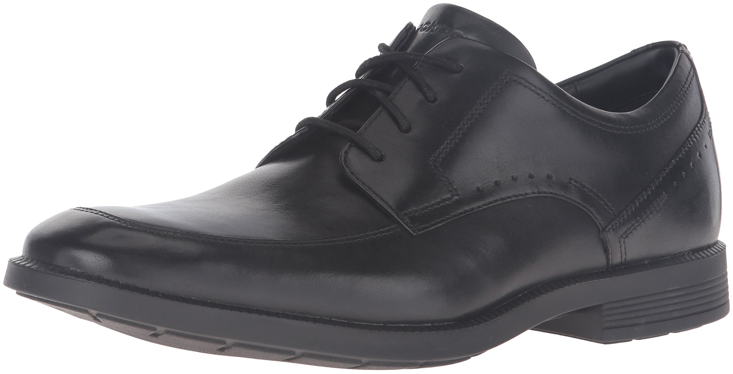 Rockport Men's Dressports Business Apron Toe Oxford, Black, 7.5 Medium US by Rockport