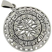AFP AS-676 Pendentif Pentagramme en argent sterling 925