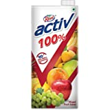 Real Activ Mixed Fruit 1 Ltr. - with No Added Sugar