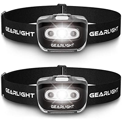GearLight LED Headlamp Flashlight S500