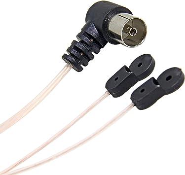 Antena dipolo FM PAL, Cable de Cable de Antena coaxial de ...