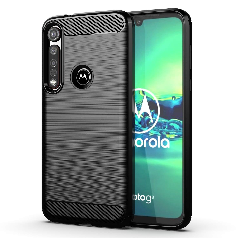 Funda Resistente Para Motorola G8 Plus, Negro