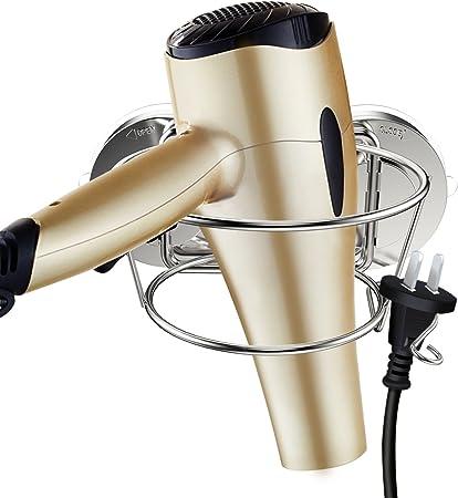 porta-phon in acciaio inox per montaggio a parete porta-asciugacapelli per