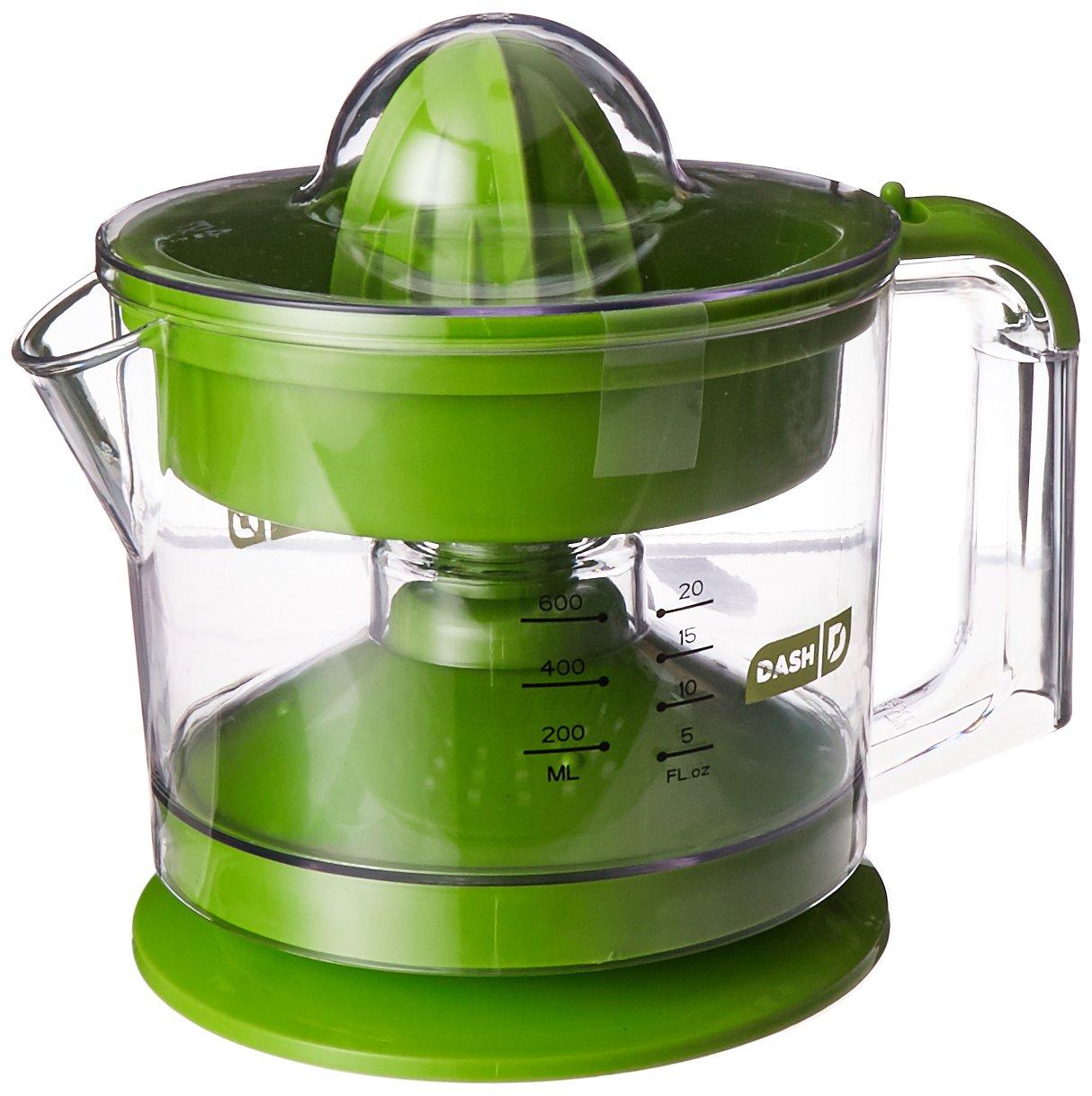 Lime Green Kitchen Appliances Amazoncom Dash Go Citrus Juicer Electric Citrus Juicers