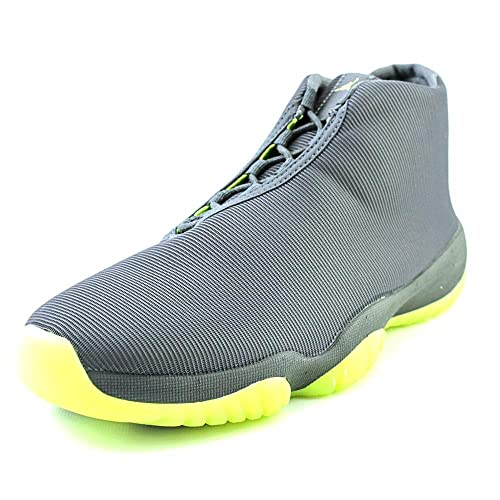 9787be50f5d007 Jordan Nike Men s Dark Grey Volt Air Future Basketball Shoe -9.5 D (m) US  Buy  Online at Low Prices in India - Amazon.in