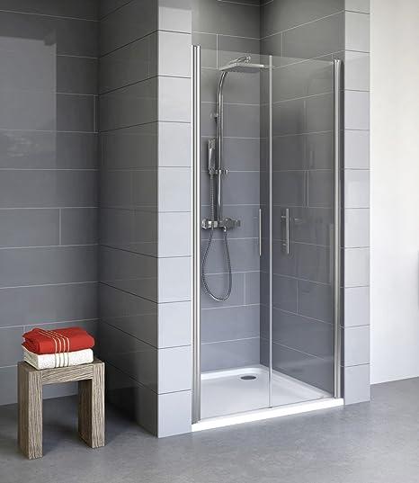 Schulte 4060991018473 puerta de ducha battante Reversible, transparente, 70 x 190 cm