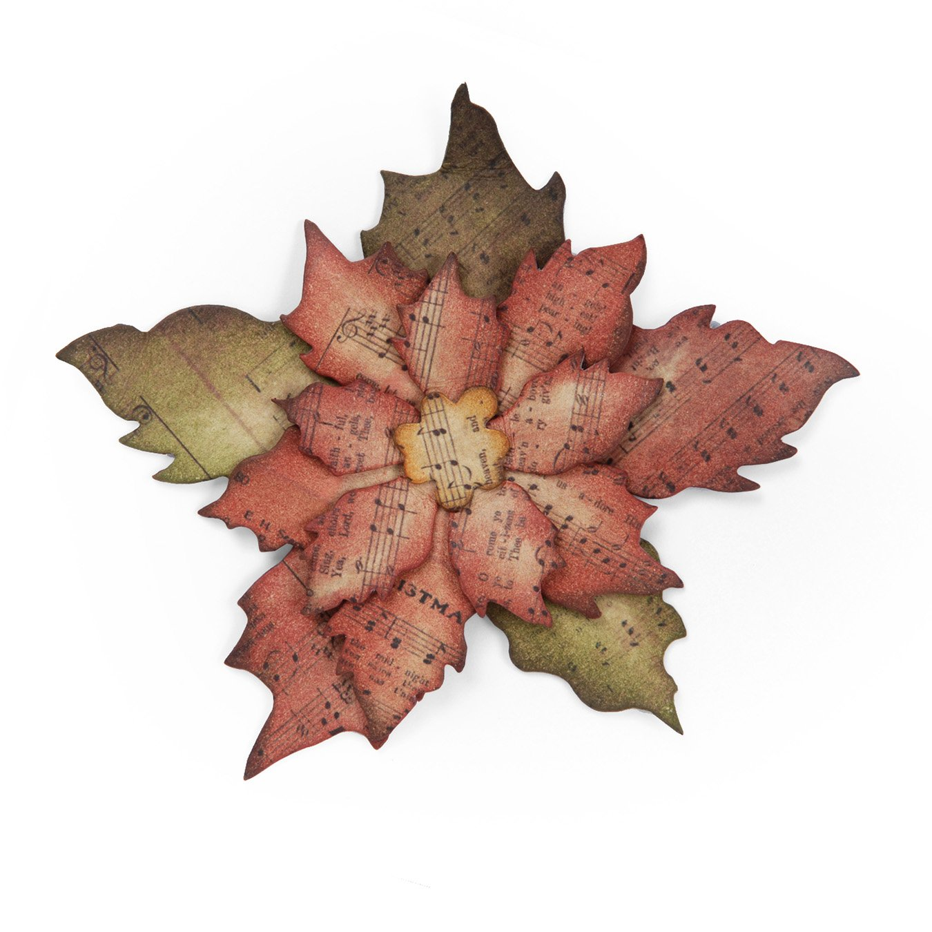 Sizzix Tattered Poinsettia Bigz Dies 658261