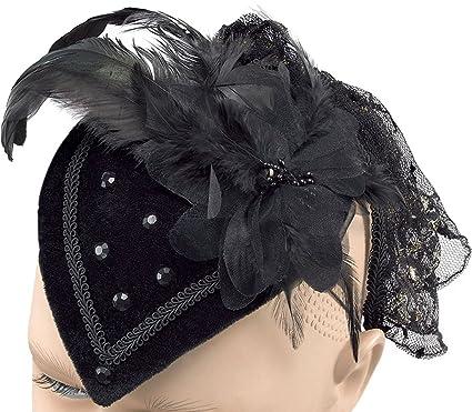 Teardrop Hat Black Riding Hat
