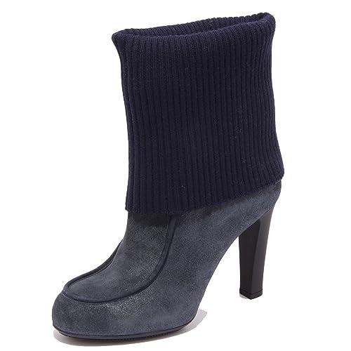 Hogan 62228 Stivale Donna Lana Scarpe Stivali Boots Shoes Women  Amazon.it   Scarpe e borse b5579f89983