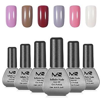Amazon.com : MelodySusie Durable Gel Nail Polish - Infinite Nude 1 ...