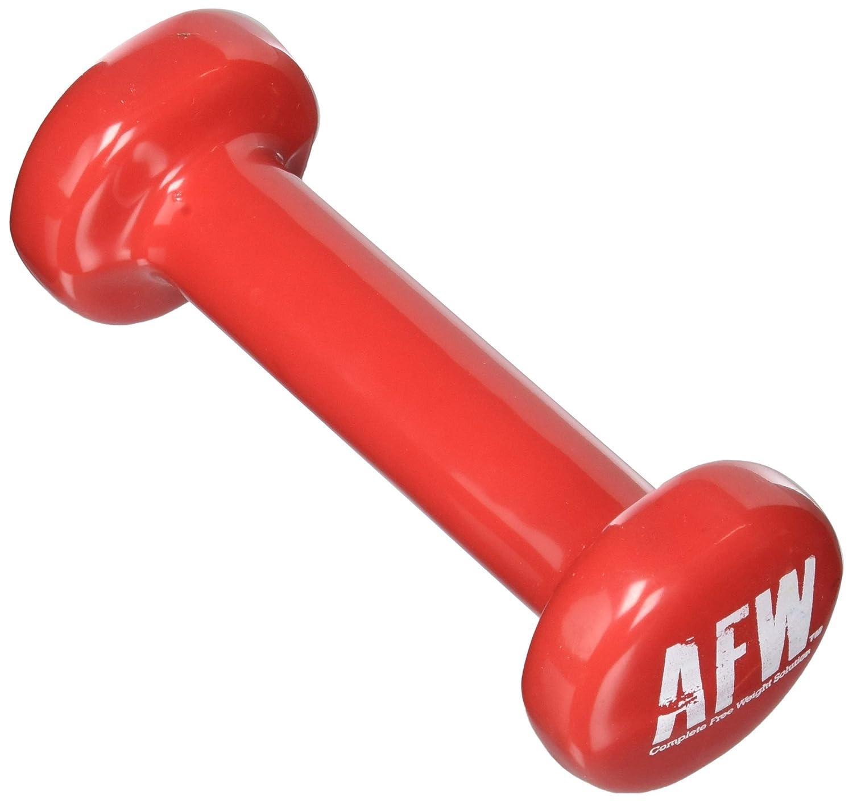 AFW 106043 - Mancuernas de vinilo 3 kg (par), color verde: Amazon ...